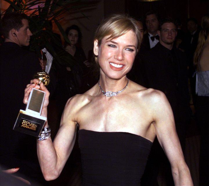 Renée Zellweger, 15 years ago.