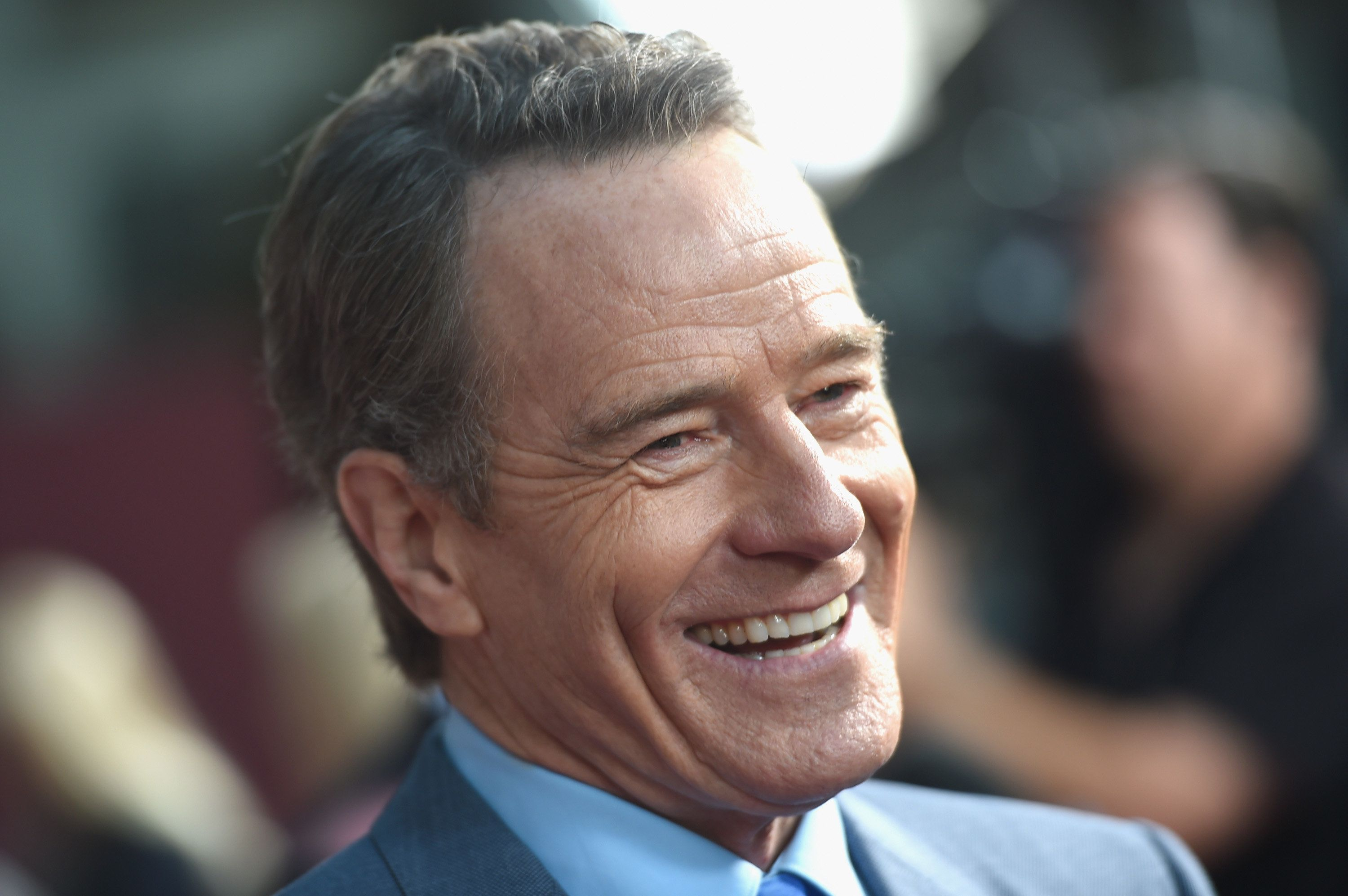 HOLLYWOOD, CA - MAY 10:  Actor Bryan Cranston attends the 'All The Way' Los Angeles Premiere at Paramount Studios on May 10, 2016 in Hollywood City.  (Photo by Kevin Winter/Getty Images)