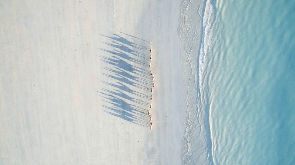 2nd Prize Winner in Travel Category. Cable Beach in Broome, Australia.