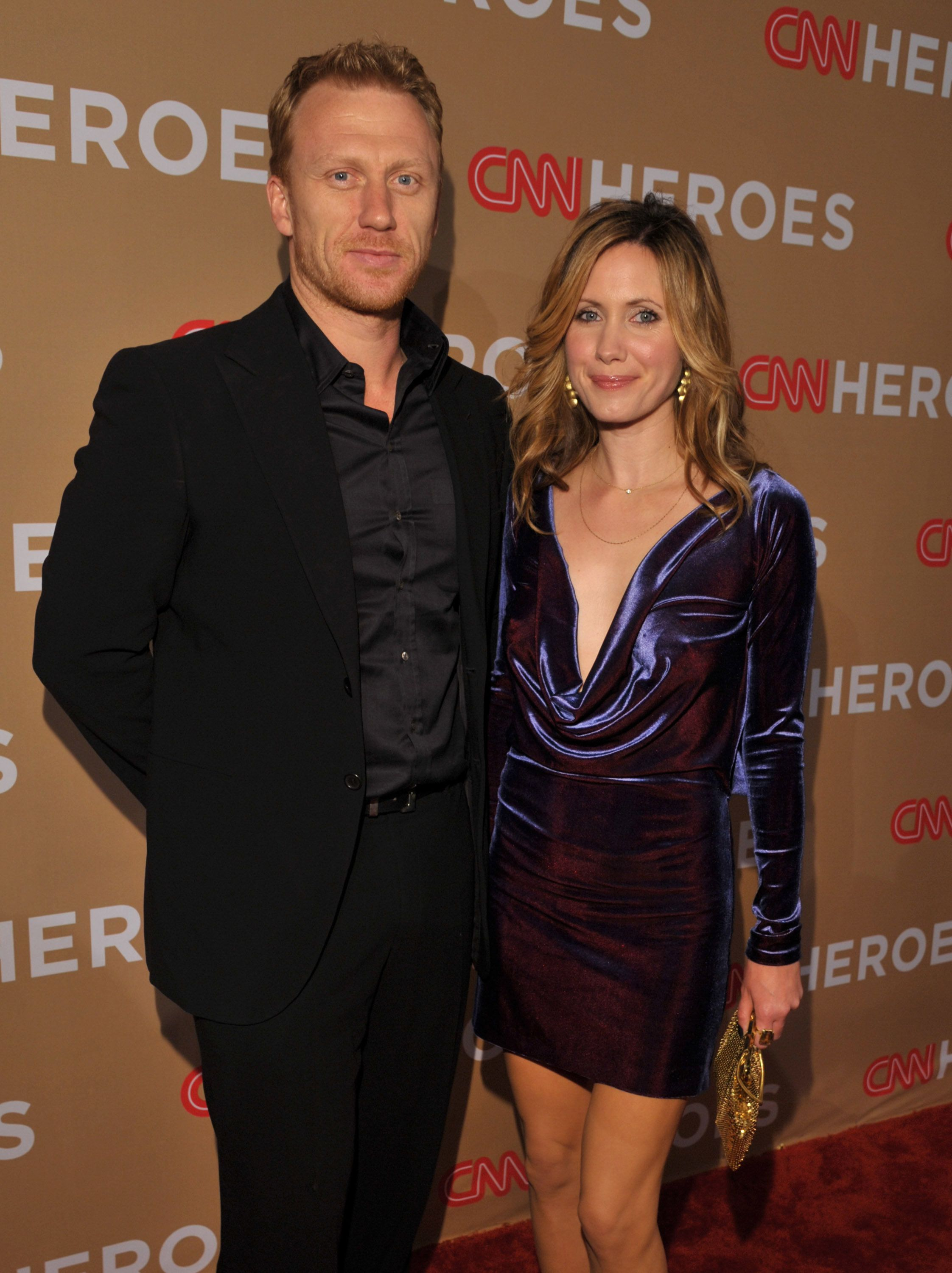 Kevin McKidd and his wife Jane at the 2010 CNN Heroes: An All-Star Tribute event.
