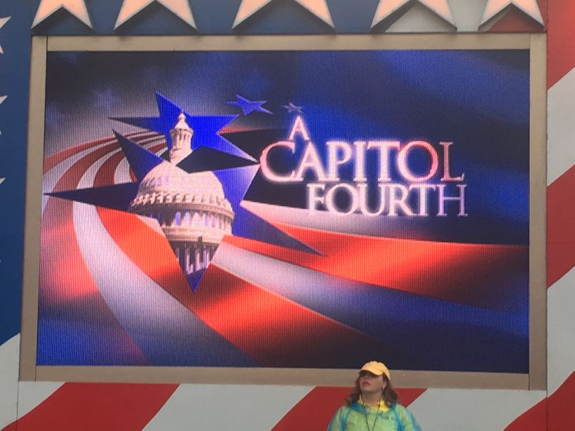 PBS annual megahit A Capitol Fourth aired on July 4th to critical acclaim.