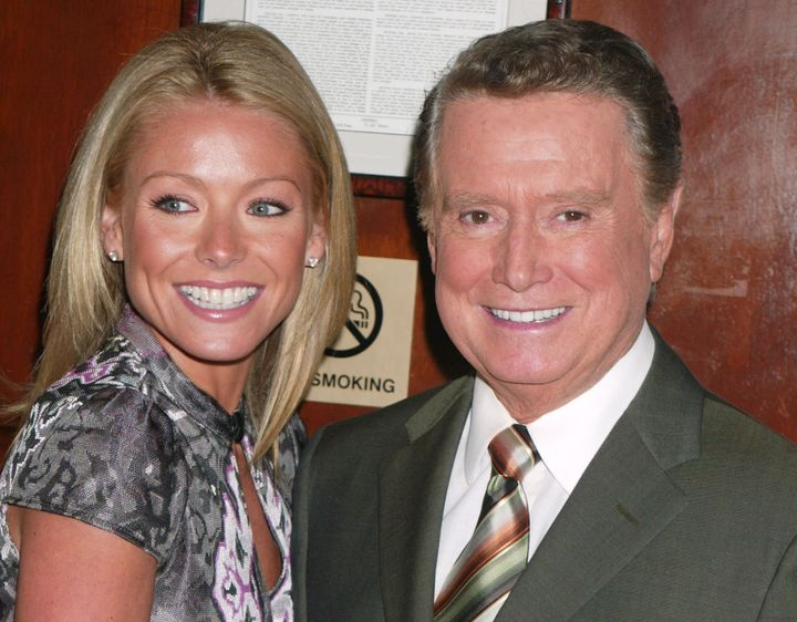 Regis Philbin and Kelly Ripa both attended the Trumps' wedding. They're pictured here at a 2005 award show, the same year as the wedding.