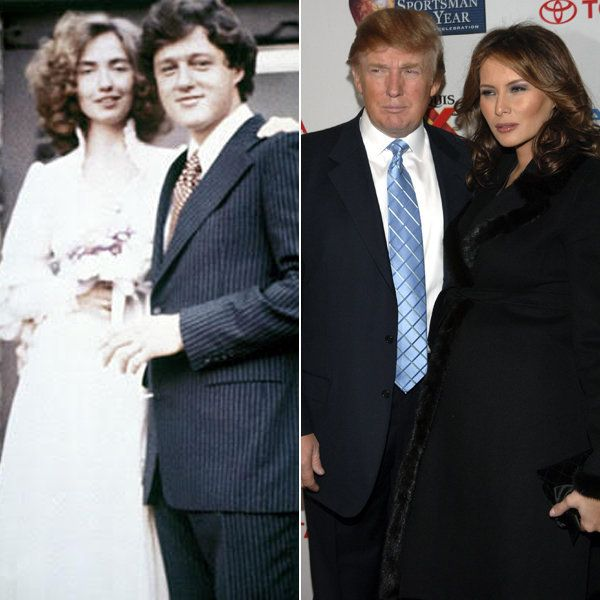 Donald Trump And Melania Wedding: Here's How Hillary Clinton's Wedding Compares To Donald
