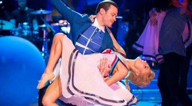 Will was a guest on 'Strictly' in
