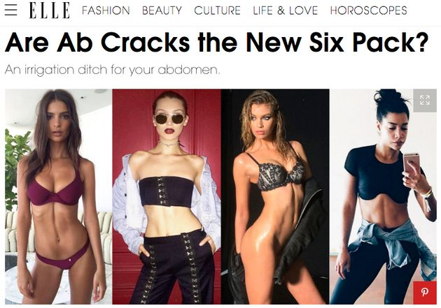'Ab Crack' Is The Fitness Trend No Woman