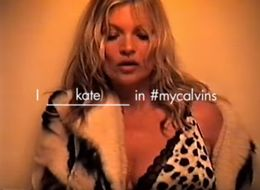 Kate Moss Is Back With A Bang For Calvin Klein