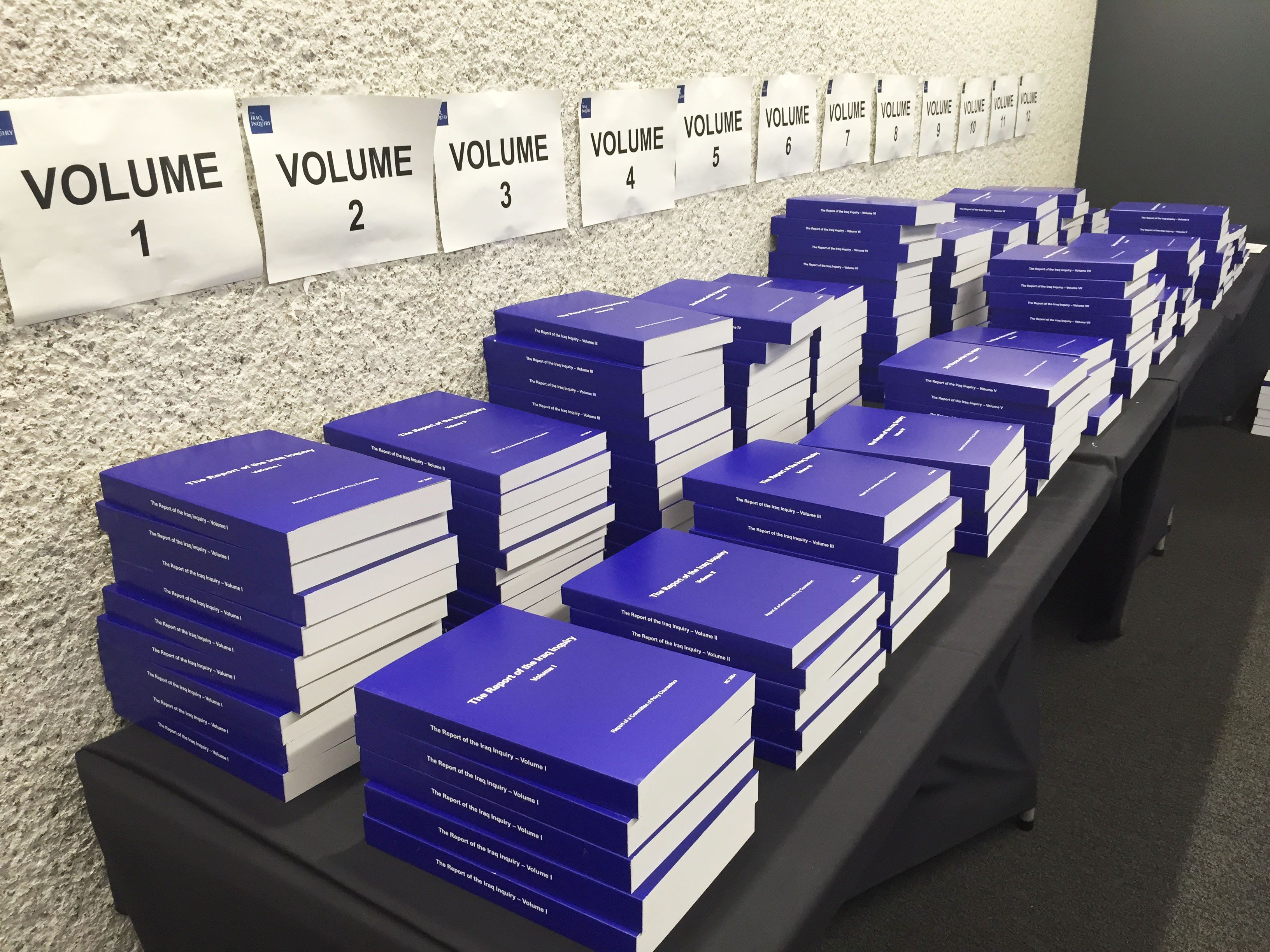 Copies of the long-awaited