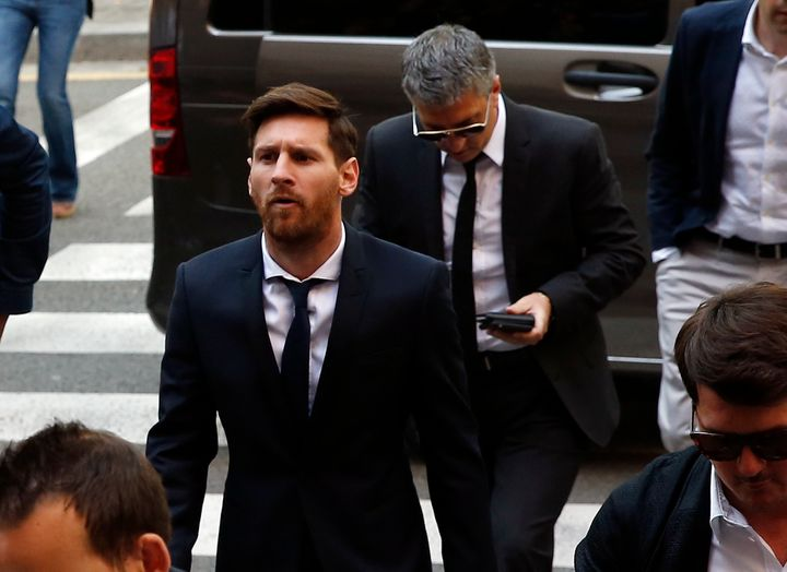 Under Spanish law, a prison sentence of less thantwo years can be served under probation, meaning Lionel Messi and his