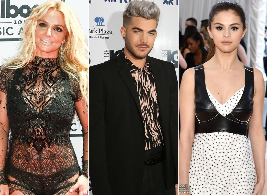 Britney, Adam and Selena all appear on the emotional