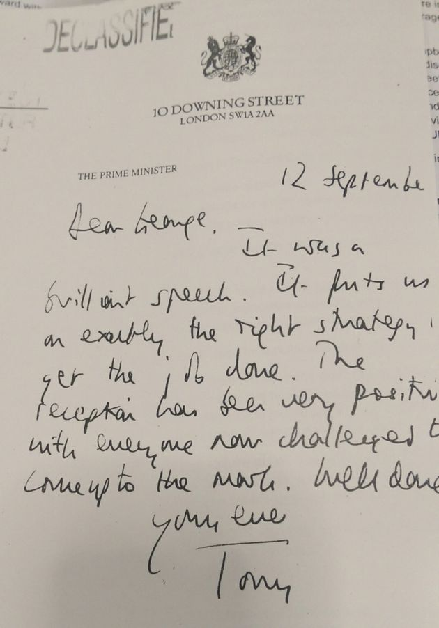 Tony Blair Letters To George Bush Published In Full - Include 2002 Pledge To Back Iraq