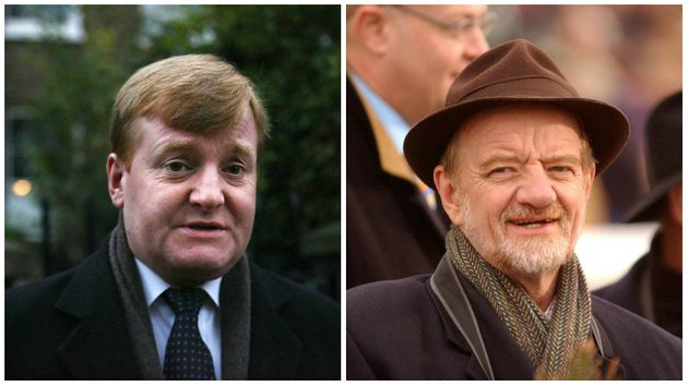 Charles Kennedy (left) and Robin Cook (right) died before the release of the Chilcot