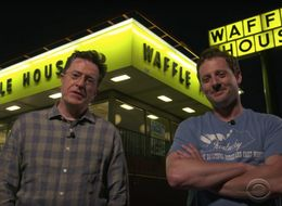 It's Safe To Say Stephen Colbert Loves Waffle House More Than You