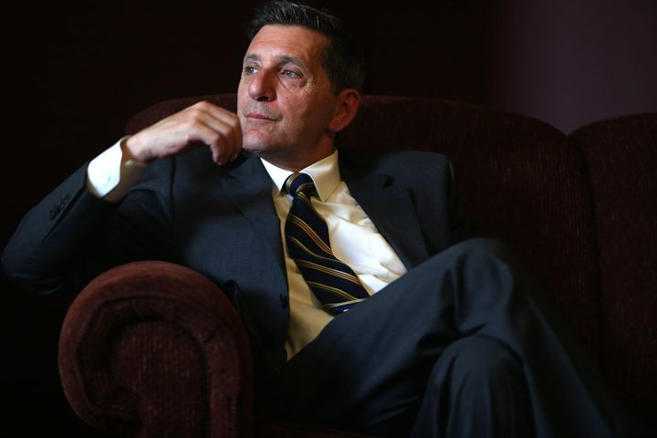 Michael Botticelli, the White House'sdirector of National Drug Control Policy,listens to the residents of Grace H