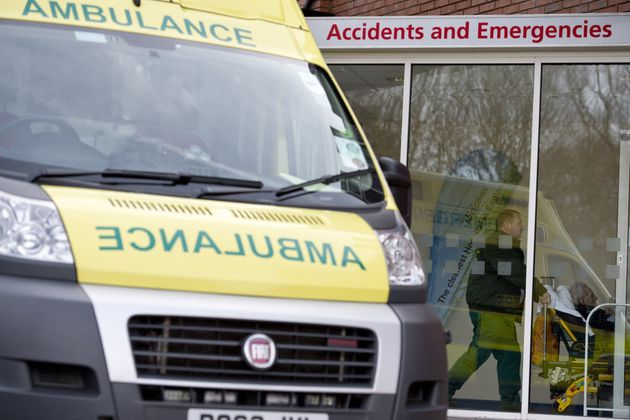 The baby was found in the toilets at the A&E department of the Royal Albert Infirmary in