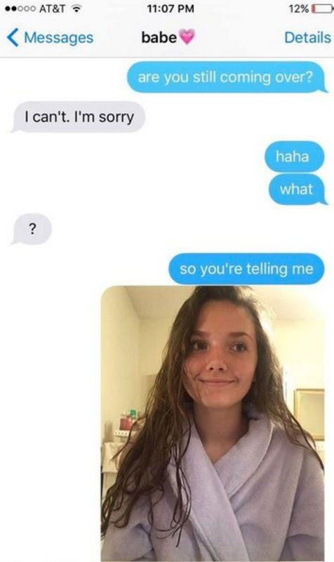 Woman's Hilarious Reaction When Her Boyfriend Cancels Date