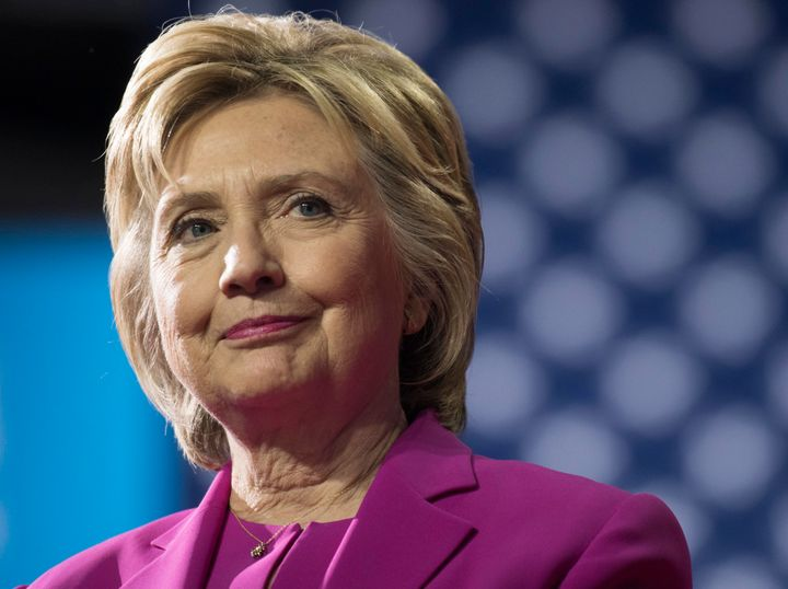 Hillary Clinton attends a campaign rally in Charlotte, North Carolina, on Tuesday, the same day the FBI announced it would no