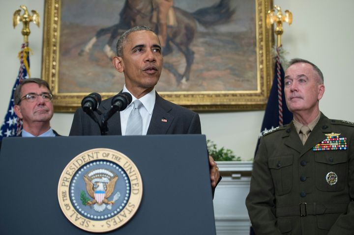 President Barack Obama said Wednesday that there will be 8,400 troops in Afghanistan when he leaves office, an increase from