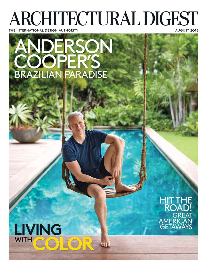 Anderson Cooper tells Architectural Digest he was fantasizing about building a home in Trancoso, Brazil, within a day after h