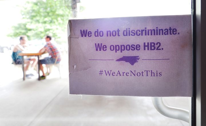 The federal government has countersued North Carolina to haltenforcement of parts ofHouse Bill 2, whichdict