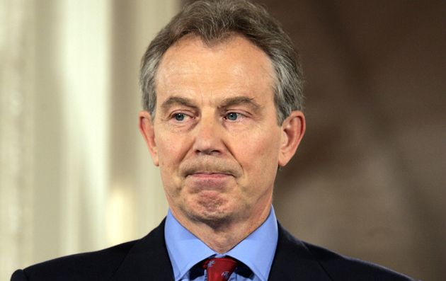Blair came under fire in the Chilcot Report, released on