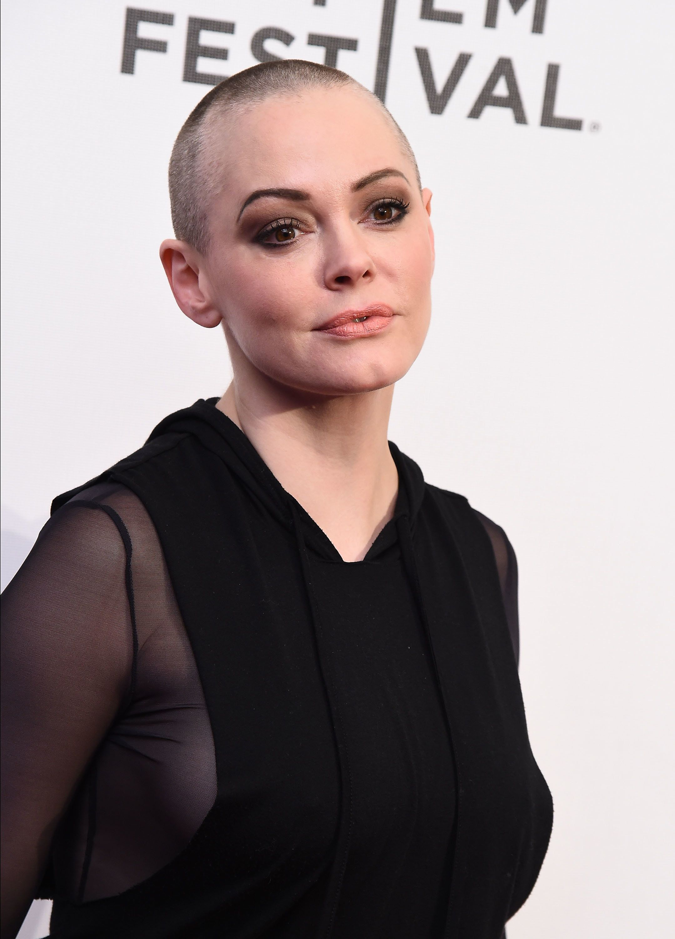 NEW YORK, NY - APRIL 22:  Actress Rose McGowan attends 'SHOT! The Psycho-Spiritual Mantra Of Rock' Screening during 2016 Tribeca Film Festival on April 22, 2016 in New York City.  (Photo by Ilya S. Savenok/Getty Images for Tribeca Film Festival)