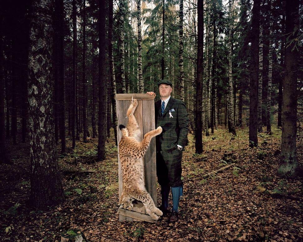 Heikki and lynx.