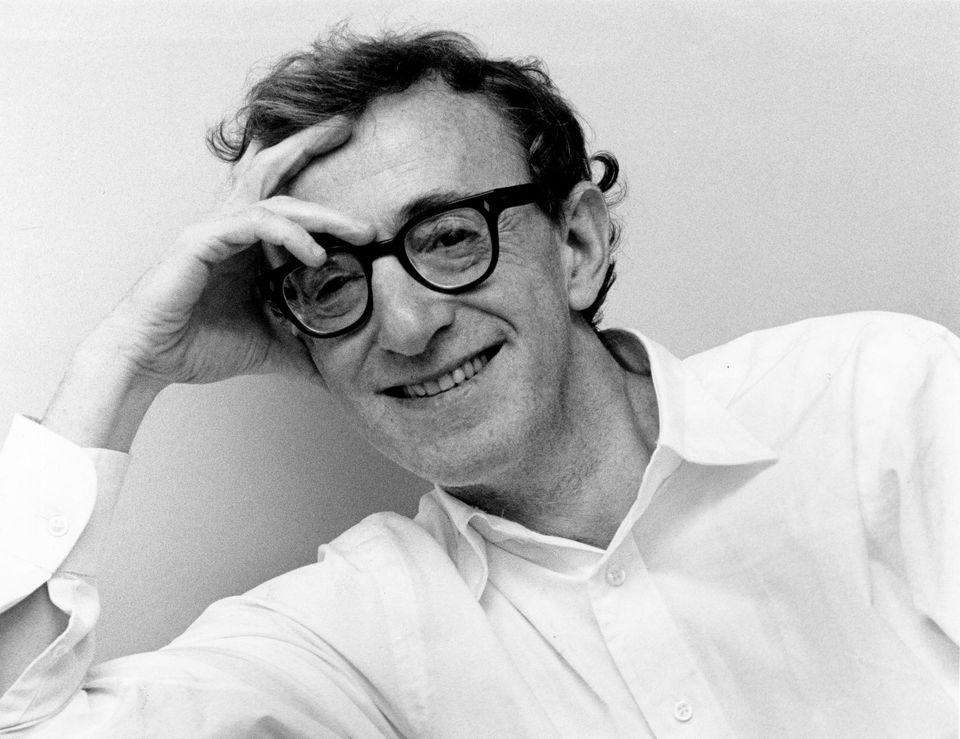 Woody Allen, American actor, director and writer. Portrait 1989.