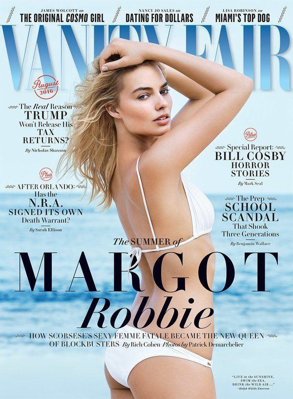 "Margot Robbie, a woman who is beautiful but definitely ""not in that otherwordly catwalk way."""