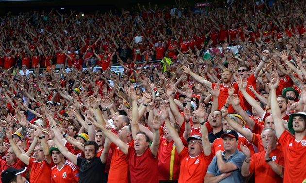 The supporters cheered their team in earnest at the Stade de Lyon in