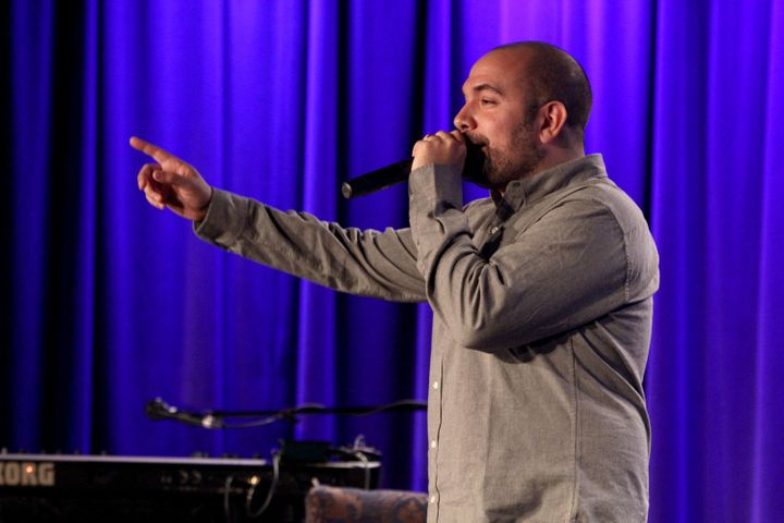 """Radio host Peter Rosenberg asked police officers be on the """"front lines""""for the community, rather than behind riot shie"""