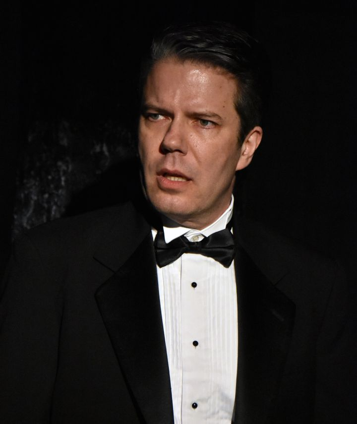 Matt Weimer as Flan in <i><strong>Six Degrees of Separation</strong></i>