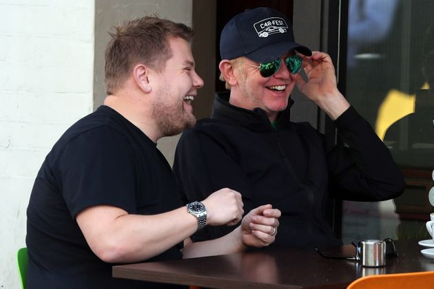 Chris Evans Is Smiling Again After Meeting Up With His Friend James Corden Following 'Top Gear'