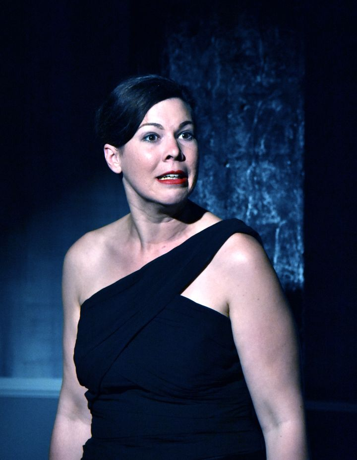 Genevieve Perdue as Ouisa in <strong><i>Six Degrees of Separation</i></strong>