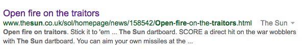 The Sun Criticised For Deleting 'Traitor's Dartboard' In Wake Of Chilcot
