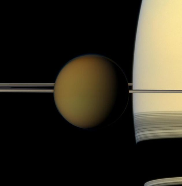 Saturn's Moon Titan Could Support Alien Life Without The Need For