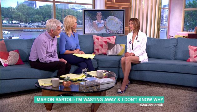 Marion told 'This Morning' hosts she feared for her life with all the pressure on her