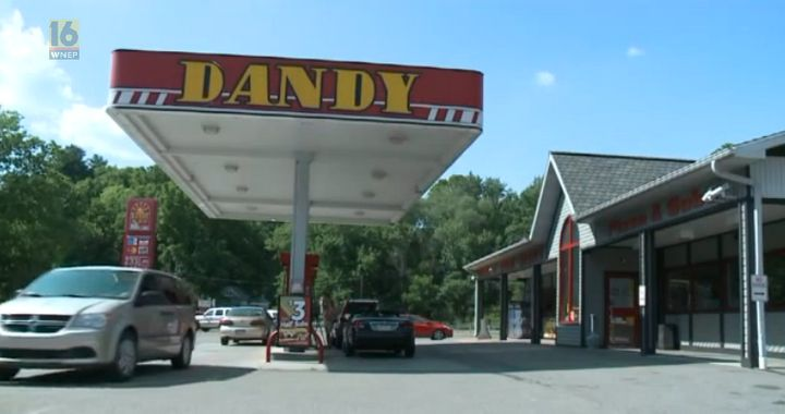 The Dandy Mart where the incident took place.