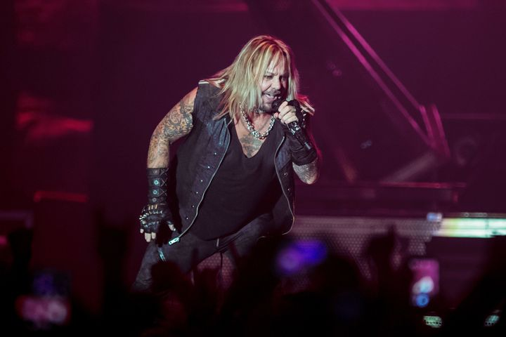 Vince Neil performs on Nov. 6, 2015, in London, England.