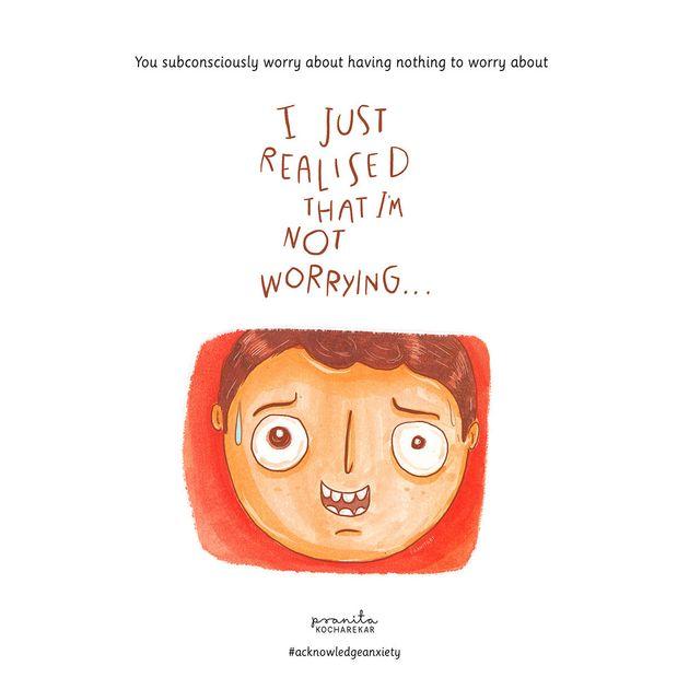 「不安障害を抱えると、こんな気持ちなの」イラストで表現してみました
