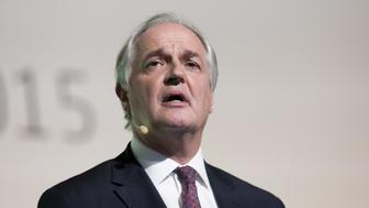 Paul Polman, chief executive officer of Unilever Plc, speaks during the action day at the United Nations COP21 climate summit, at Le Bourget, in Paris, France, on Saturday, Dec. 5, 2015. Frances energy and environment minister Segolene Royal yesterday said the fate of the United Nations global warming talks hinges on the willingness of richer countries to pay poorer ones more for climate-related projects. Photographer: Christophe Morin/Bloomberg via Getty Images