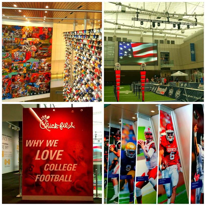 College Football Hall Of Fame And Chick-Fil-A-Fan Experience, Atlanta