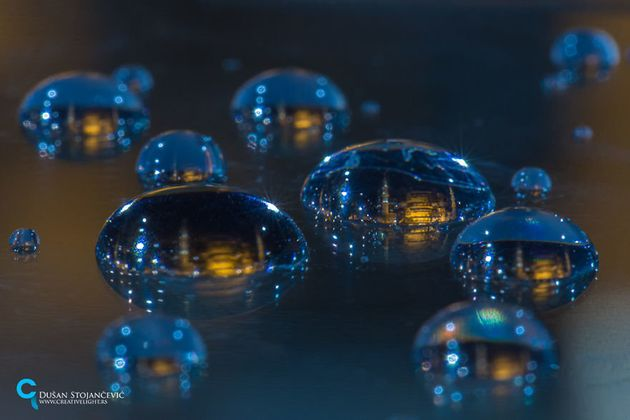 This Photographer Captures Entire Worlds Inside Water