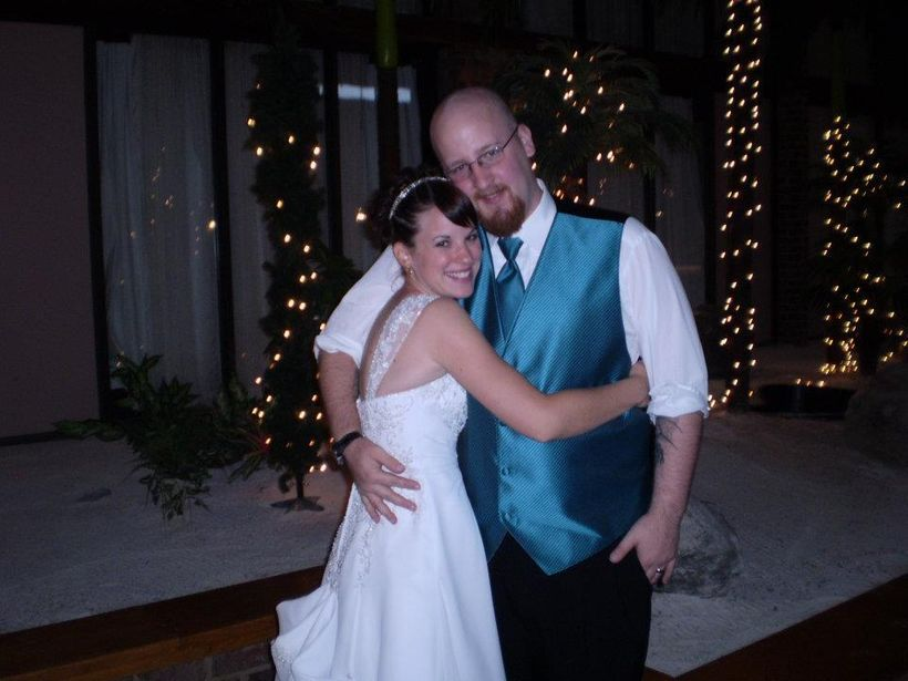 Our wedding day, October 8, 2011