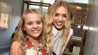 NEW YORK, NY - JULY 06:  Maisy Stella and Lennon Stella attend the AOL Build Speaker Series - Lennon & Maisy at AOL Studios In New York on July 6, 2016 in New York City.  (Photo by Theo Wargo/WireImage)