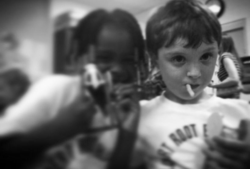 <i>My son always bonded best with African American girls. Youth doesn't care about color.</i>