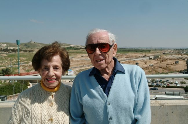 Lottie Marcus (left) and Dr. Howard Marcus.