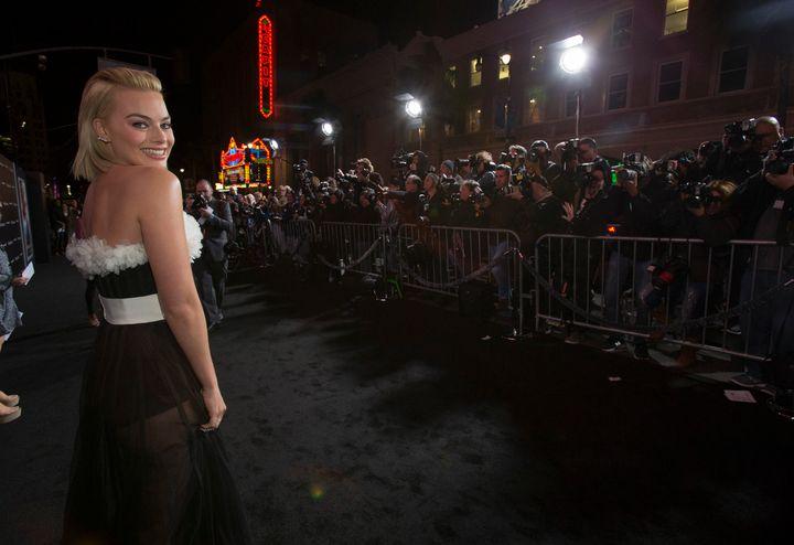 Margot Robbie on Feb. 24, 2015, in Hollywood, California.