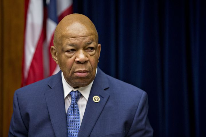 Rep. Elijah Cummings (D-Md.) made a surprisingly personalplea to FBI director James Comey to do more to break the patte
