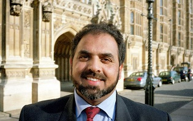 Lord Ahmed received hate