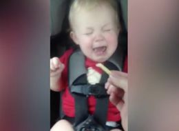 Don't Mess With This Baby's French Fry